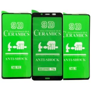 Защитное стекло CERAMIC Realme C11 Black тех упаковка