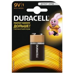 Батарейки DURACELL 9V / MN1604 KPN