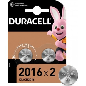 Батарейки DURACELL DL2016 DSN цена за 1 батарейку