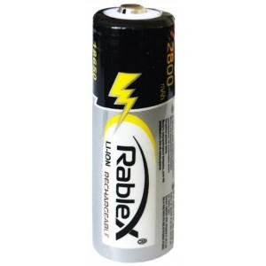 Аккумулятор Rablex 18650 Li-lon 2800 mAh (1/40/400)