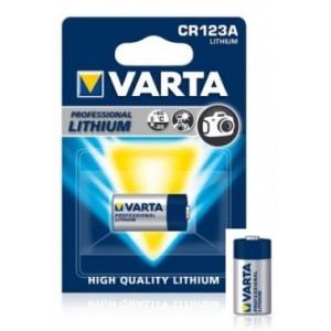 Батарейка VARTA CR 123A BLI 1 LITHIUM (6205) цена за 1 шт.