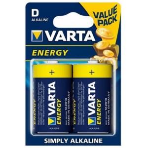 Батарейка VARTA Energy D (LR20)BLI 2 (4120) цена за 2 шт.