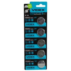Батарейка VIDEX 2032 BLI 5 цена за упаковку