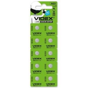 Батарейка VIDEX AG3(lr41) BLI 10 цена за упаковку