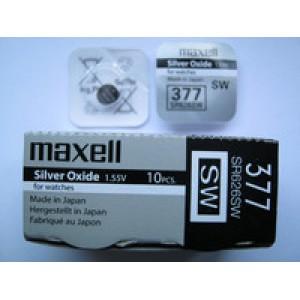 Батарейки Maxell 377 / SR626 Цена за 1 шт.
