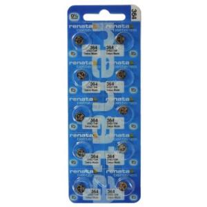 Батарейки Renata 364 / SR621 Цена за 10 шт.