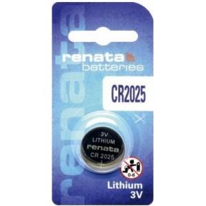 Батарейки Renata Lithium CR2025 Цена за 1 шт.