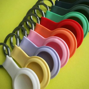 Брелок Silicone FULL Key Ring for AirTag Yellow