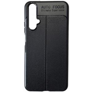 Силикон Auto Focus кожа Huawei Nova 5T black