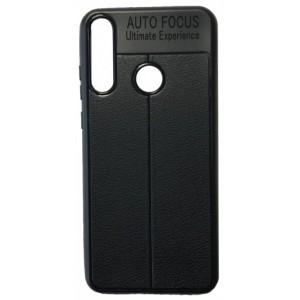 Силикон Auto Focus кожа Huawei Y6P 2020 black