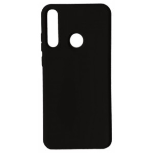 GRAND Full Silicone Cover for Huawei P40 Lite e / Y7p black