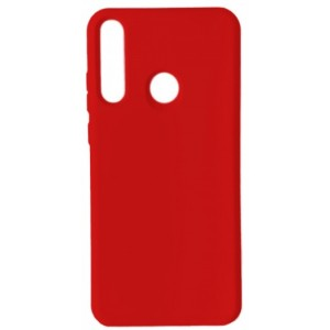 GRAND Full Silicone Cover for Huawei P40 Lite e / Y7p red