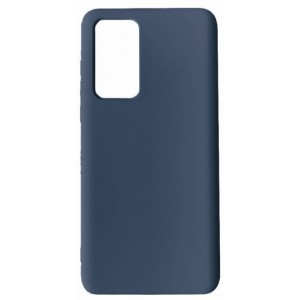 GRAND Full Silicone Cover for Huawei P40 navy blue