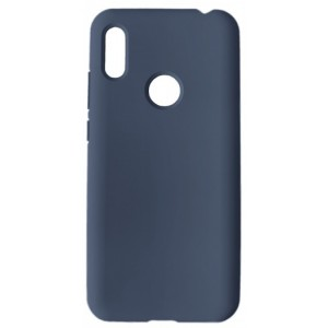 GRAND Full Silicone Cover for Huawei Y6s 2019 navy blue