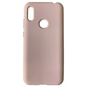 GRAND Full Silicone Cover for Huawei Y6s 2019 pink sand