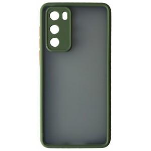 Накладка Gingle Matte Case Huawei P40 green/orange