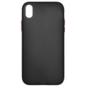 Накладка Gingle Matte Case Huawei Y5 2019 black/red