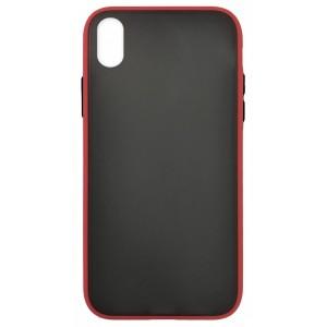 Накладка Gingle Matte Case Huawei Y5 2019 red/black