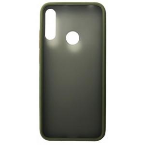 Накладка Gingle Matte Case Huawei Y6S 2019 green/orange