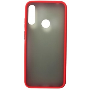 Накладка Gingle Matte Case Huawei Y6S 2019 red/black