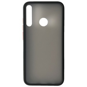 Накладка Gingle Matte Case Huawei Y7P 2020 black/red