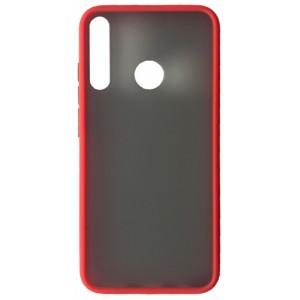 Накладка Gingle Matte Case Huawei Y7P 2020 red/black