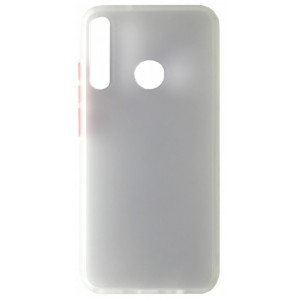 Накладка Gingle Matte Case Huawei Y7P 2020 white/red