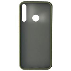 Накладка Gingle Matte Case Huawei Y7p 2020 green/orange
