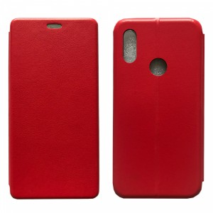 Чехол-книжка Level for Huawei Y6s 2019 Red