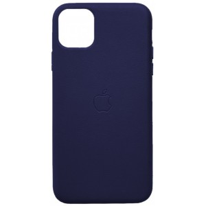 Накладка Leather Case Full for iPhone 11 Pro blue