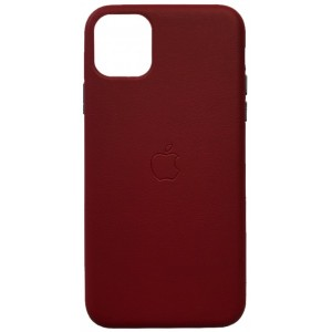 Накладка Leather Case Full for iPhone 11 Pro red