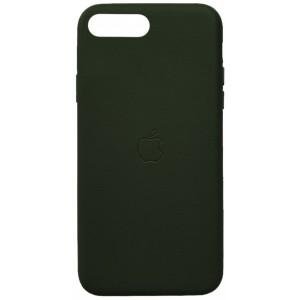 Накладка Leather Case Full for iPhone 7 Plus/8 Plus green