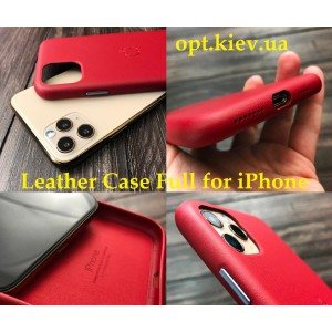Накладка Leather Case Full for iPhone 11 Pro Max black