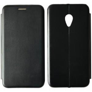 Чехол-книжка Level for Meizu M5 Black