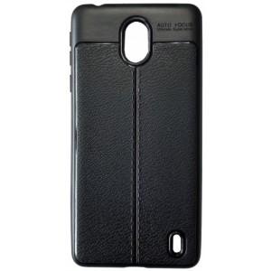 Силикон Auto Focus кожа Nokia 1 Plus black