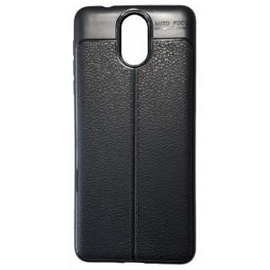 Силикон Auto Focus кожа Nokia 3.1 black
