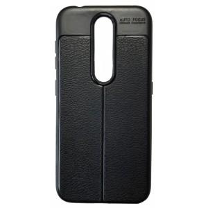 Силикон Auto Focus кожа Nokia 4.2 black