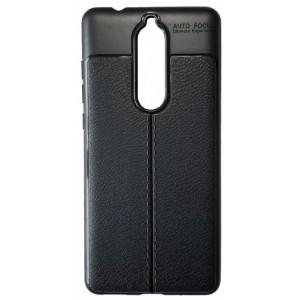 Силикон Auto Focus кожа Nokia 5.1 black