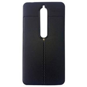 Силикон Auto Focus кожа Nokia 6.1/6 (18) black