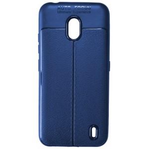 Силикон Auto Focus кожа Nokia 2.2 blue