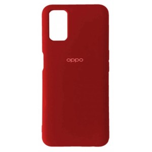 Silicone Case Full for Oppo A52 Red