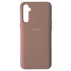 Silicone Case Full for Realme 6 Pink