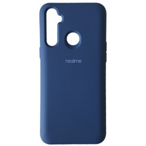 Silicone Case Full for Realme 6i Navy blue
