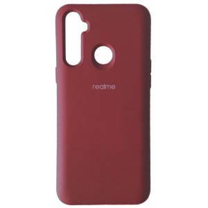 Silicone Case Full for Realme 6i Red