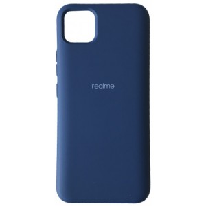 Silicone Case Full for Realme C11 Navy blue
