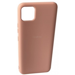 Silicone Case Full for Realme C11 Pink