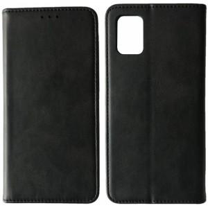 Чехол-книжка Black TPU Magnet for Samsung A02S (A025) Black