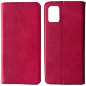Чехол-книжка Black TPU Magnet for Samsung A02S (A025) Pink