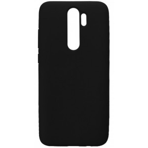 GRAND Full Silicone Cover for Samsung A20s (A207) black