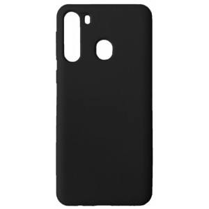GRAND Full Silicone Cover for Samsung A21 (A215) black